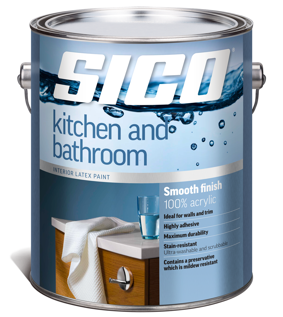 Kitchen And Bathroom Paint Colours: Sico Kitchen & Bath Paint